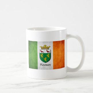 Rooneyのアイルランド人の旗 コーヒーマグカップ