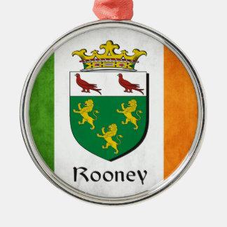 Rooneyのアイルランド人の旗 メタルオーナメント