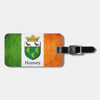 Rooneyのアイルランド人の旗 ラゲッジタグ