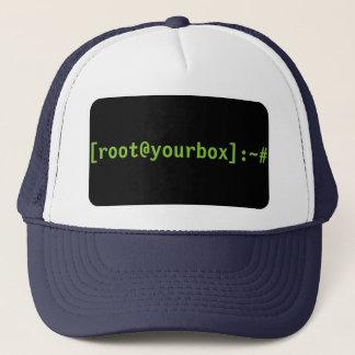 [root@yourbox]: ~#の帽子 キャップ