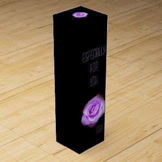 Rosa Blue Bajou:Wine gift box ワインギフトボックス
