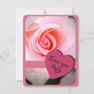 Rosa Cherish [Flat Greeting Card] カード