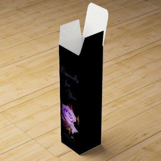 Rosa Climbing Blue Moon:Wine gift box ワインギフトボックス