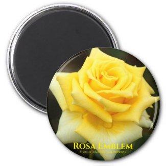 Rosa Emblem:Round Magnet マグネット