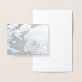 Rosa French Lace:Foil card 箔カード