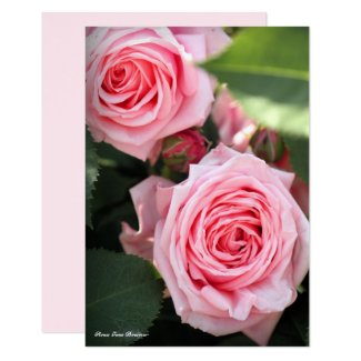 Rosa Gene Boerner:Standard Invitations card カード