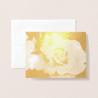 Rosa Gold Bunny:Foil card 箔カード