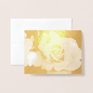 Rosa Gold Bunny:Foil card 箔カード