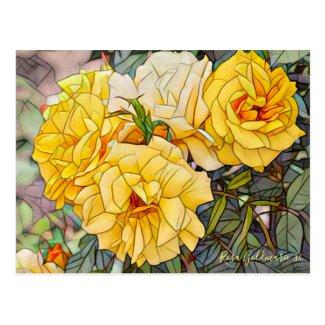 Rosa Goldmarie '84 [Postcard] ポストカード