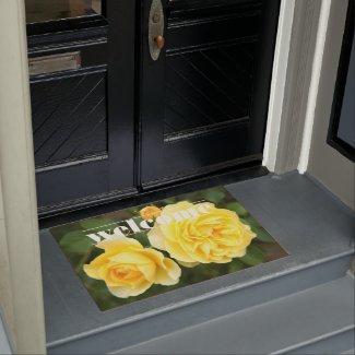 Rosa Graham Tomas:Door mat ドアマット
