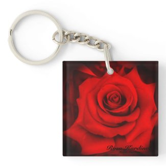 Rosa Kardinal:Acrylic Keychain キーホルダー