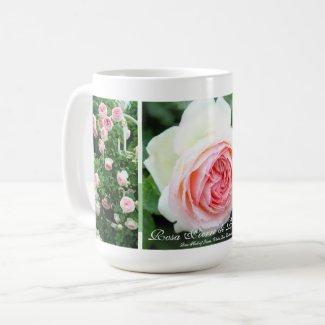 Rosa Pierre de Ronsard:Coffee Mug コーヒーマグカップ