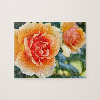 Rosa Royal Sunset [Jigsaw puzzle: 110P] ジグソーパズル
