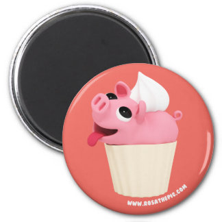 Rosa the Pig is a CupCake マグネット
