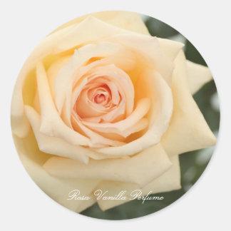 Rosa Vanilla Perfume ラウンドシール