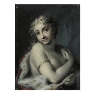 Rosalba Carriera著冬 ポストカード