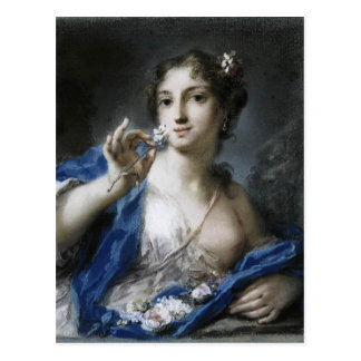 Rosalba Carriera著春 ポストカード