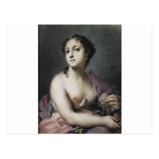 Rosalba Carriera著秋 ポストカード