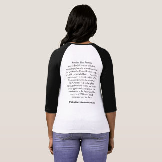 Rosalind Elsieフランクリン Tシャツ