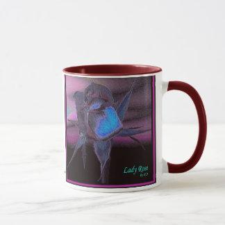 Rose女性#9のマグ マグカップ