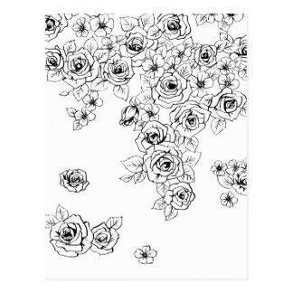 rose garden ポストカード