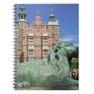 Rosenborg宮殿、コペンハーゲン、デンマーク ノートブック