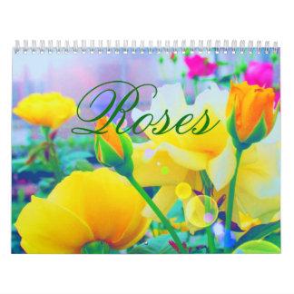 Roses 2018 Custom Calendar カレンダー