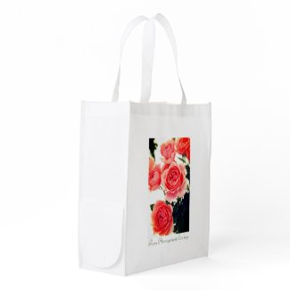Roses Arrangement:Eco bag エコバッグ