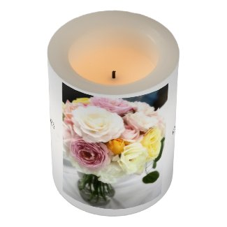 Roses Arrangement(Type B):LED Candles LEDキャンドル