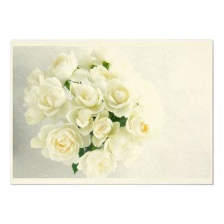 Roses bouquet invitations カード