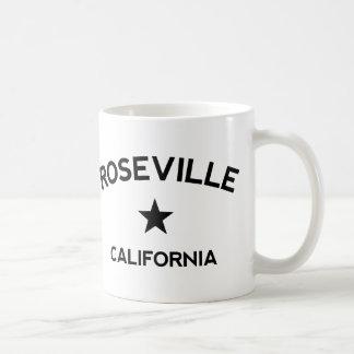Rosevilleカリフォルニア コーヒーマグカップ