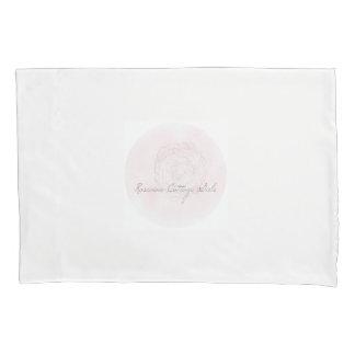 Rosevineのコテージの女の子のキャベツばら色の枕カバー 枕カバー