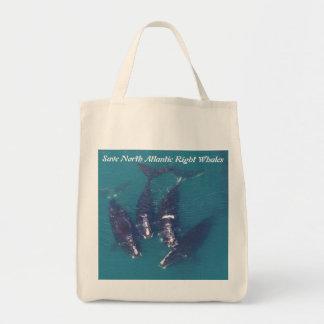 RoseWritesによって北大西洋のセミクジラを救って下さい トートバッグ