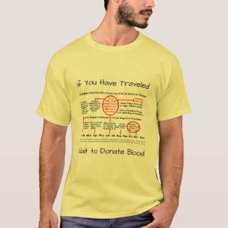 RoseWritesによって血のZikaのワイシャツを寄付するために待って下さい Tシャツ