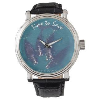 RoseWrites著クジラを救う時間 腕時計