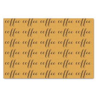 RoseWrites著コーヒー恋人のティッシュペーパー 薄葉紙