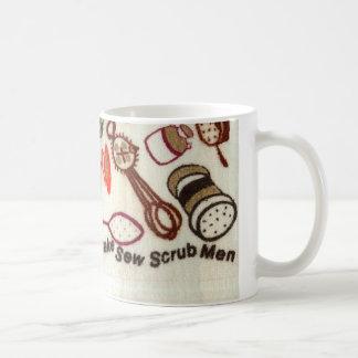 RoseWrites著レトロのおもしろいな皿タオルのマグ コーヒーマグカップ