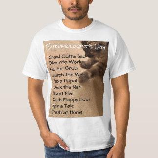 RoseWrites著昆虫学のユーモアのワイシャツ Tシャツ