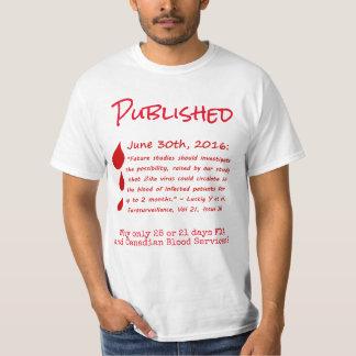 RoseWrites著血月のワイシャツのZikaのウイルスのRNA Tシャツ