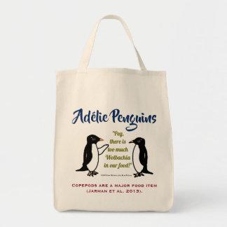 RoseWrites著Adélieのペンギン トートバッグ
