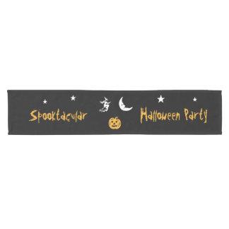 RoseWrites著Spooktacularハロウィンのテーブルのランナー ショートテーブルランナー
