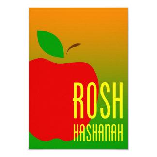 roshのhashanahのりんご カード