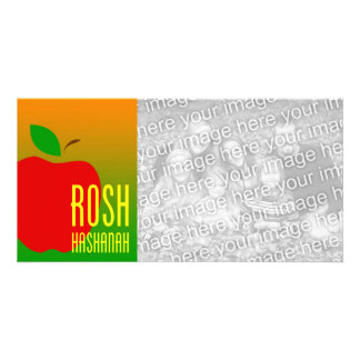 roshのhashanahの写真カード カード