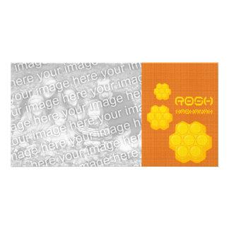 roshのhashanahの蜜蜂の巣 カード