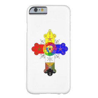 Rosicrucianばら色の十字のLamenのiPhone6ケース Barely There iPhone 6 ケース