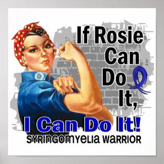 RosieがSyringomyeliaの戦士それをすることができれば ポスター