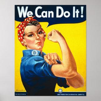 Rosieのリベッターのヴィンテージのプロパガンダ ポスター