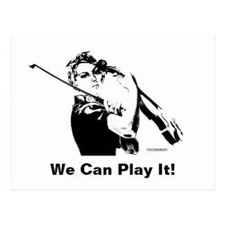 Rosieバイオリン弾き ポストカード