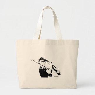 Rosieバイオリン弾き ラージトートバッグ