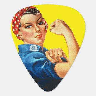 RosieリベッターのフェミニズムのギターPic ギターピック